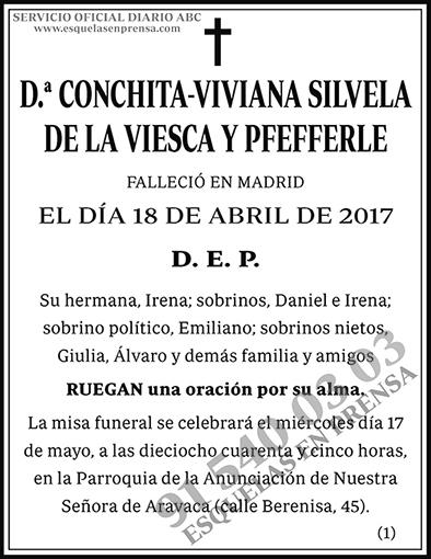 Cochita-Viviana Silvela de la Viesca y Pfefferle